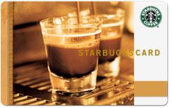 Starbucks Cofee Card