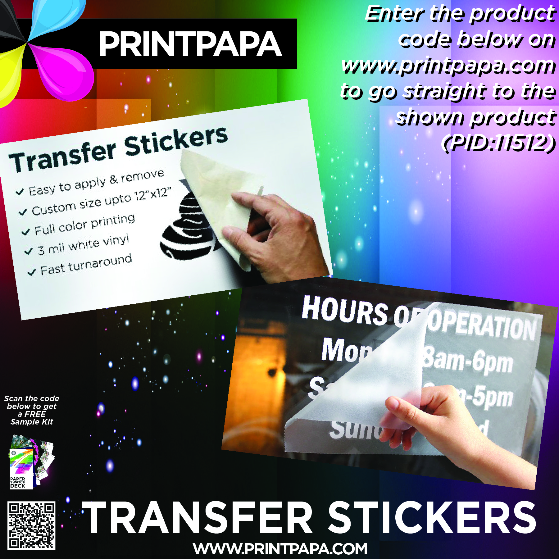 Full color printing company - Our Transfer Stickers Are Made By Printing Your Design In Full Color On 3 Mil White Vinyl And Then Any Part Of The Design That Is Transparent Will Be Cut