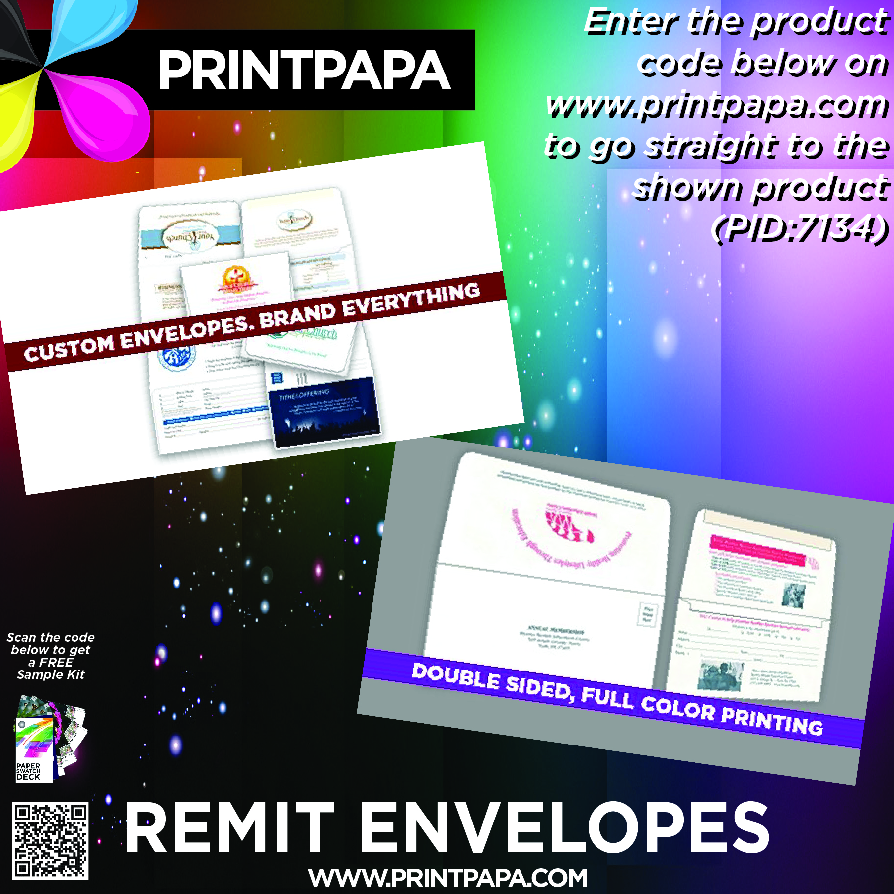 Full color printing company - Remittance Envelopes Are Used By Charities Billing Agencies Schools Churches Mail Order Companies And By Other Businesses And Organizations For