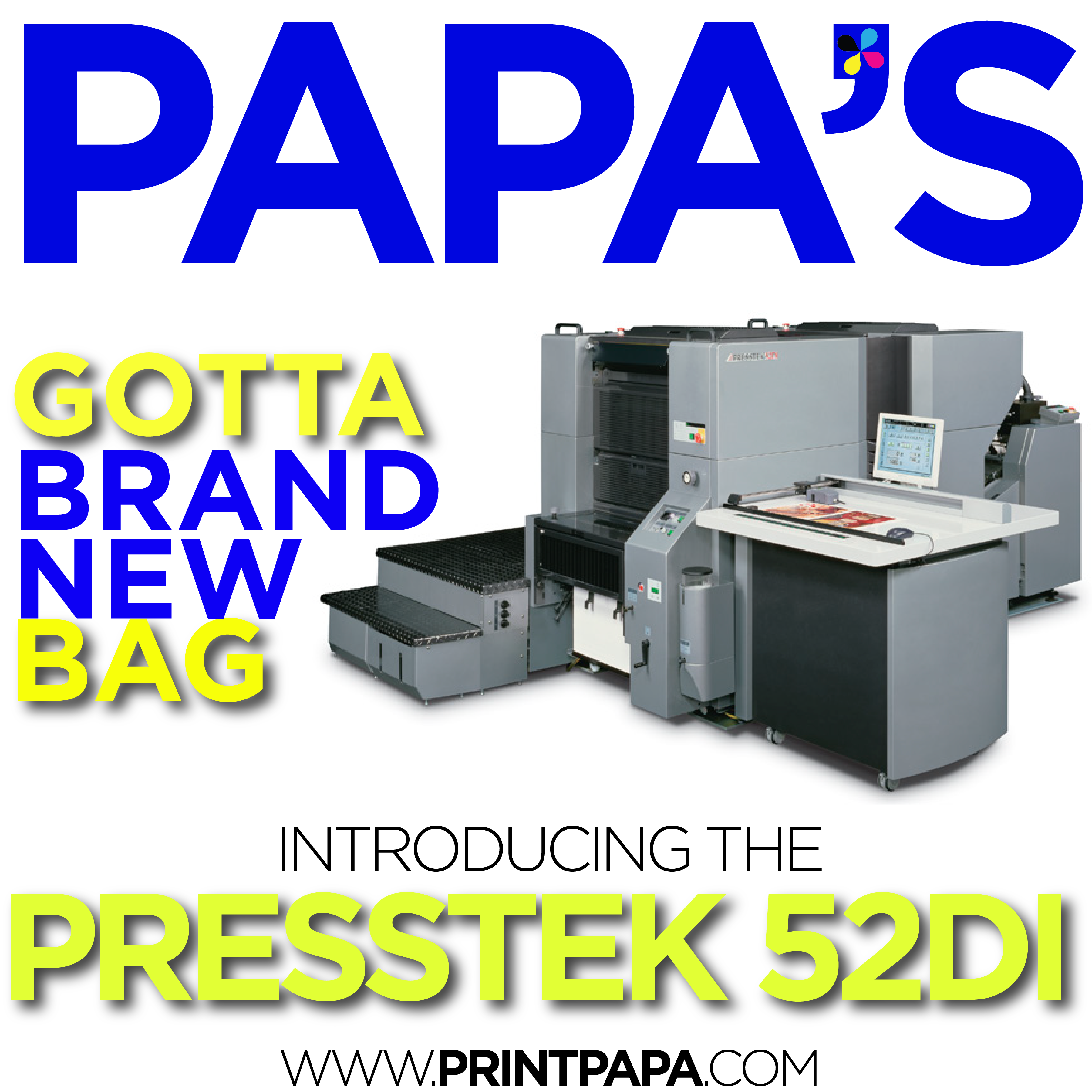 Full color printing company - The Presstek 52di Is A Highly Automated 52cm Landscape Sheetfed Four Color Digital Offset Printing Press That Combines The Efficiency Of An All Digital