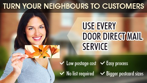 every door direct mail california
