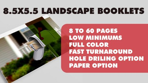 online booklet printing services
