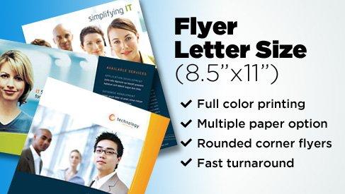 custom shaped flyers