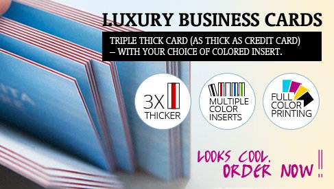 online business cards printing