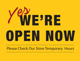 Free Reopening Business Posters