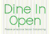 Dine in Open Posters Free