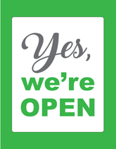 Yes, we're Open Flyers Free
