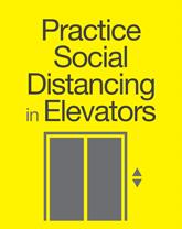 Practice Social Distancing Flyers