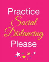 Flyers - Social Distancing Free Pre-Made Graphics