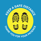 Floor Decals – Free Pre-Made Safe Distance Graphics