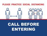 Elevators Safe Distancing Graphics - Posters